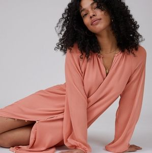 Wilfred Santiago Dress in Heirloom Pink NWT